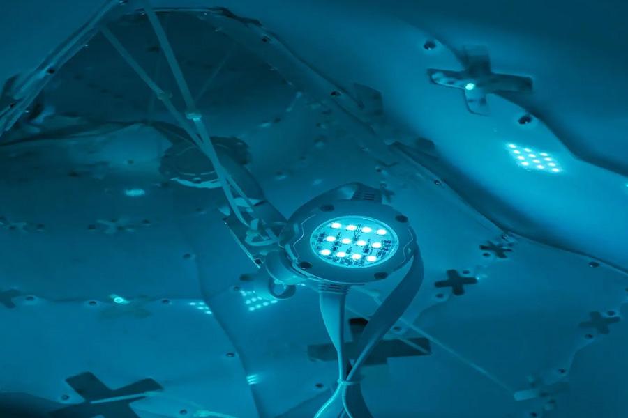 robot under water