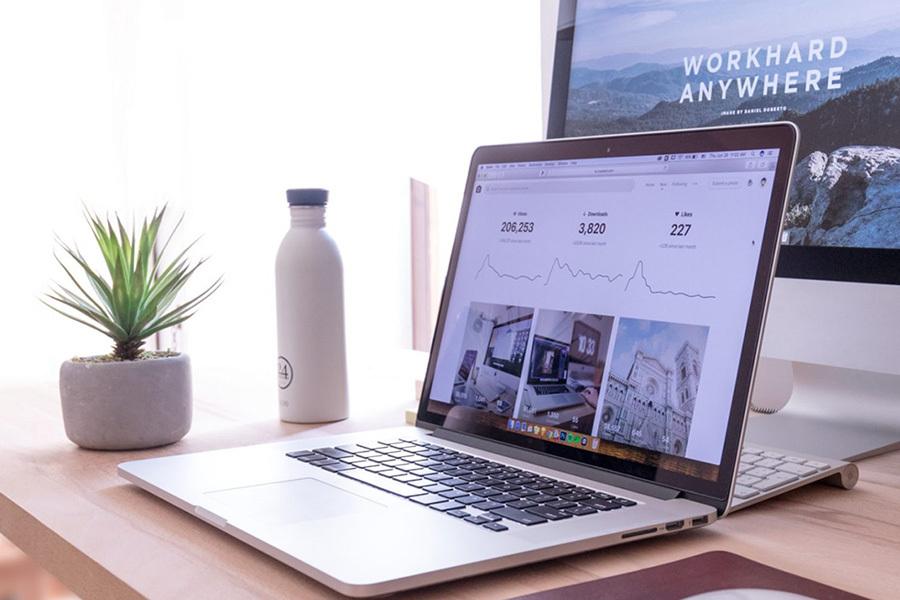 laptop and desktop screens