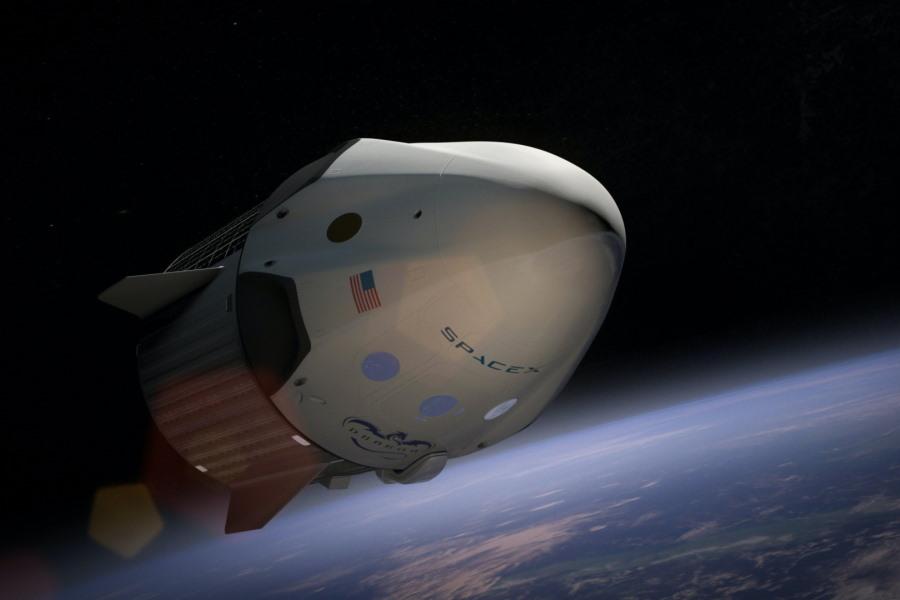 SpaceX in orbit