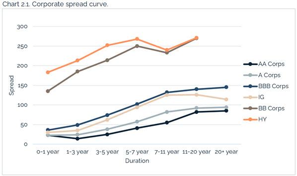 207.25.2021 - Chart 2.1 - corporate spread curve